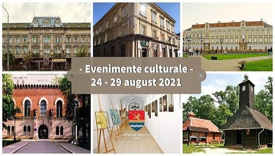 Evenimente culturale ale săptămânii, în organizarea instituțiilor CJ Timiș