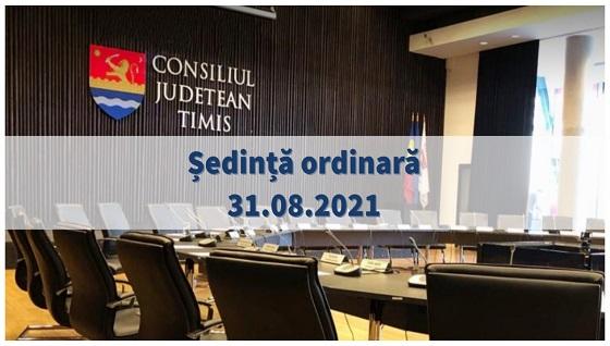 Ședință ordinară- 31 august