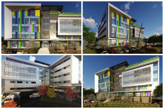 Șantierul pentru noua maternitate și cel pentru extinderea UPU – Spitalul Județean Timișoara au fost verificate pe teren.