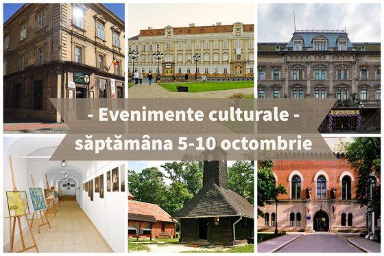 Evenimentele culturale ale săptămânii